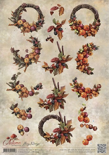 Knipvel Amy Design - Autumn Moments CD10754