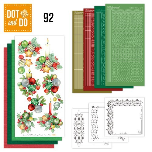 Dot & Do Hobby Dots Pakket - Kerstkaarsen