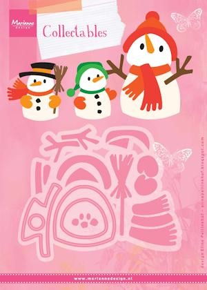 Collectables Marianne Design - Eline`s Sneeuwpop
