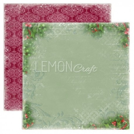 Scrappapier Lemon Craft - Christmas Greetings 02
