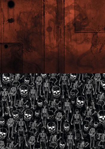 Yvonne Creations Background Sheet - Happy Halloween BGS10016