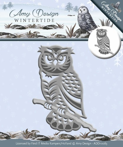 Amy Design Stans - Wintertide - owl