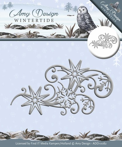 Amy Design Stans - Wintertide - ice crystal swirl