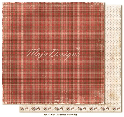 Scrappapier Maja Design - I Wish Christmas was Today