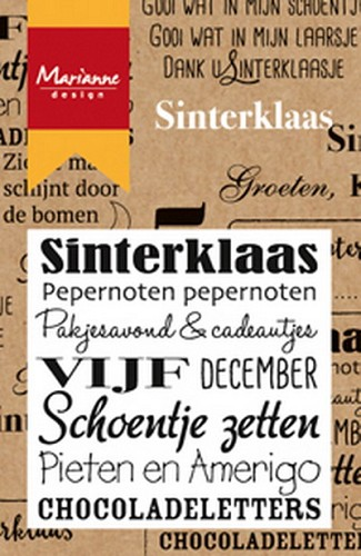 Marianne Design Clearstamp - sinterklaas