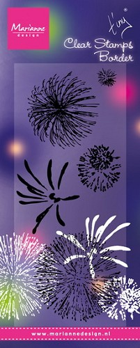 Marianne Design Clearstamps - Tiny`s Fireworks