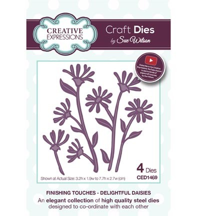 Creative Expressions Stans - The Finishing Touches Collection - Delightful Daisies