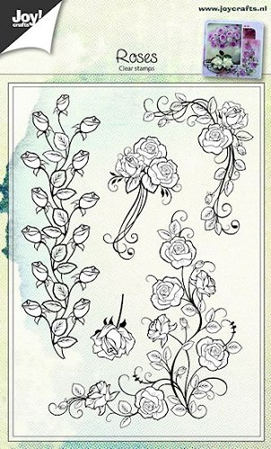 Joy Clearstamps - Roses