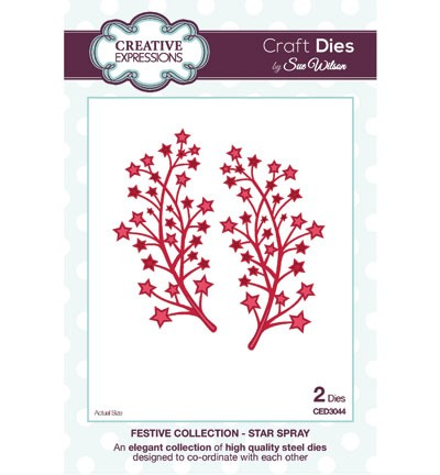 Creative Expressions Stans - The Festive Collection - Star Spray