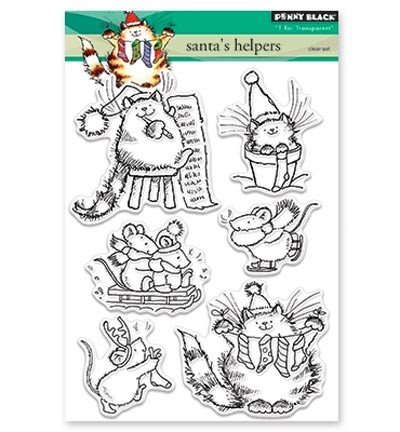 Penny Black Clearstamps - Santa`s Helpers