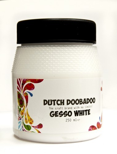 Dutch Doobadoo Gesso - white