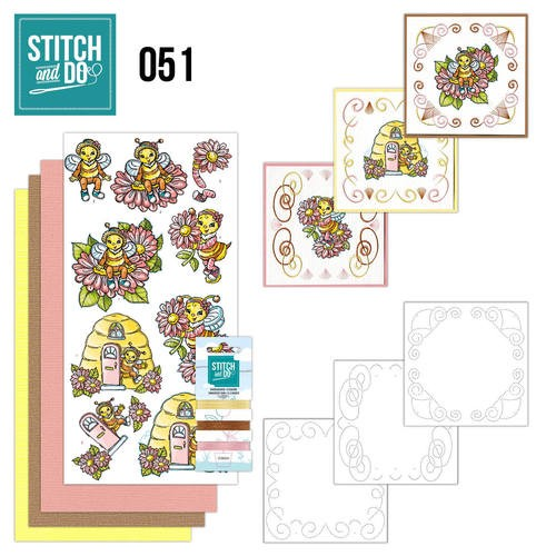 Stitch and Do Pakket - bijtjes