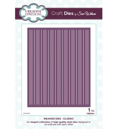 Creative Expressions Stans - Weaving Dies - Classic