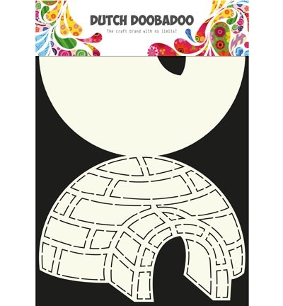 Dutch Doobadoo - Card Art - iglo
