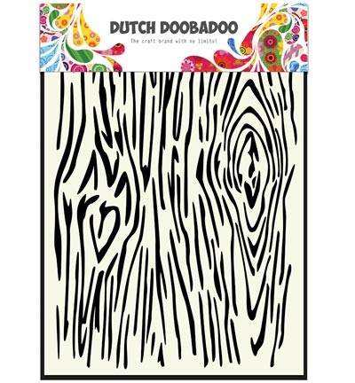 Dutch Doobadoo - Mask Art - woodgrain