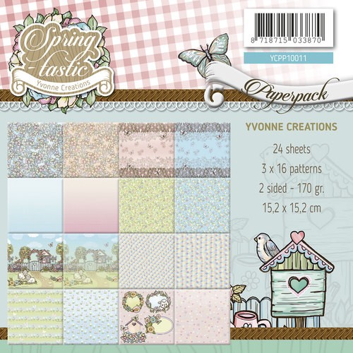 Yvonne Creations Paper Pack - Spring-tastic