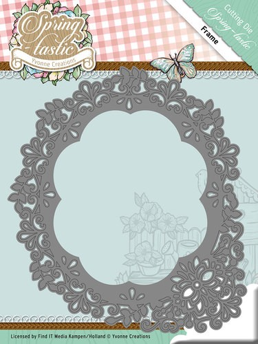 Yvonne Creations Stans - Spring-tastic - frame