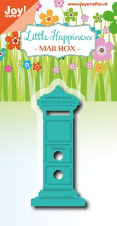 Joy Stencil - Little Happiness - mailbox