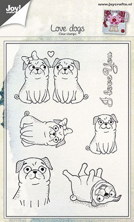 Joy Clearstamps - Love Dogs