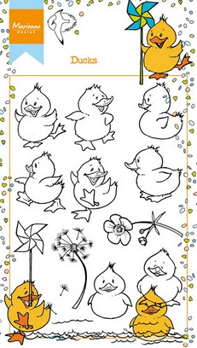 Clearstamp Marianne Design - Hetty`s Eendjes