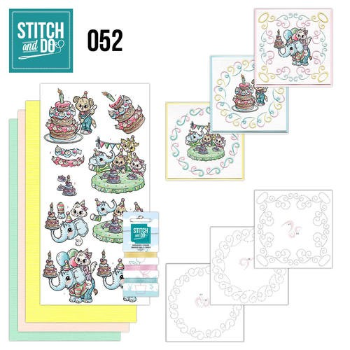 Stitch and Do Pakket - Tods and Toddlers