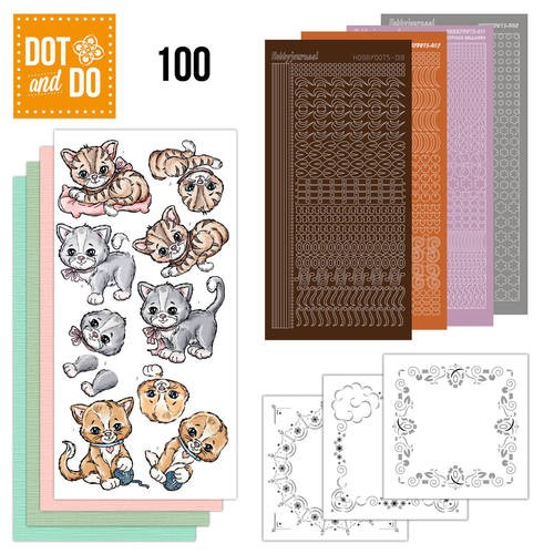 Dot & Do Hobbydots Pakket - katten