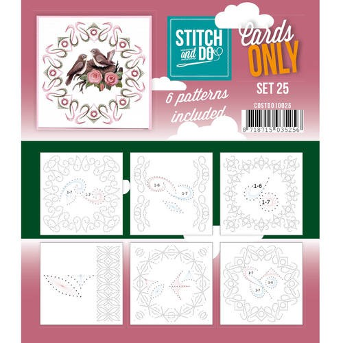 Stitch and Do Cards Only - set 25