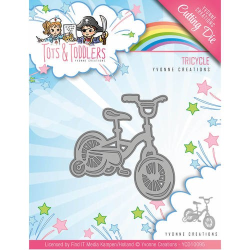 Yvonne Creations Stans - Tots and Toddlers - tricycle