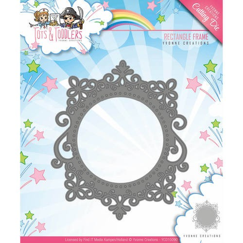 Yvonne Creations Stans - Tots and Toddlers - rectangle frame