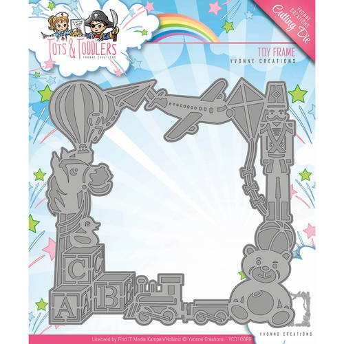 Yvonne Creations Stans - Tots and Toddlers - toy frame