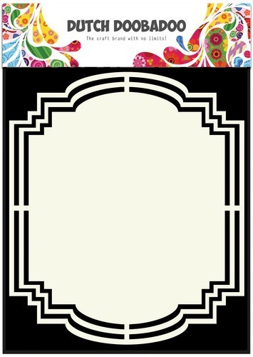 Dutch Doobadoo - Shape Art - frames label 2