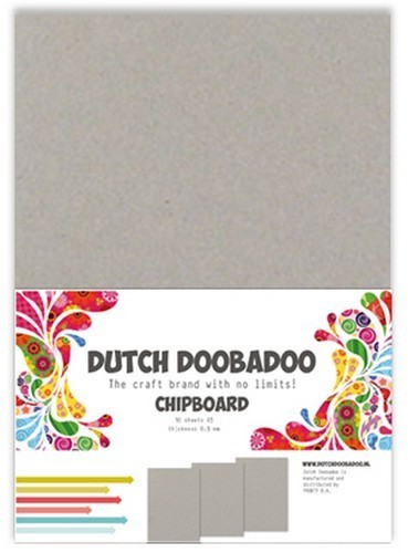 Dutch Doobadoo Chipboard - A5