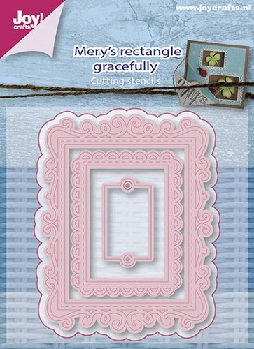 Joy Stencil - Mery`s Rectangle Gracefully