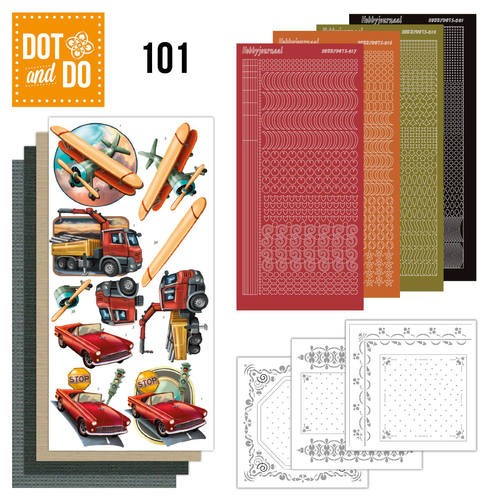 Dot & Do Hobbydots Pakket - vintage vehicles
