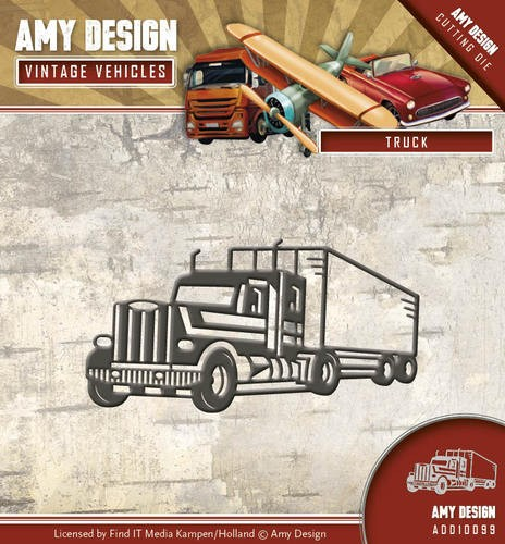 Amy Design Stans - Vintage Vehicles - truck