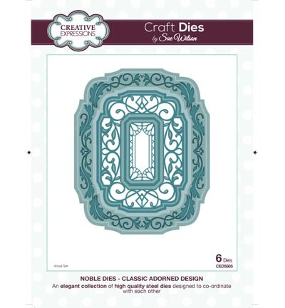 Creative Expressions Stans - Noble Dies - Classic Adorned Design