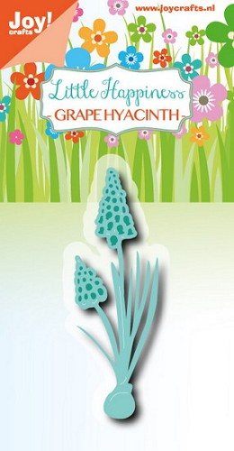Joy Stencil - Little Happiness - grape hyacinth