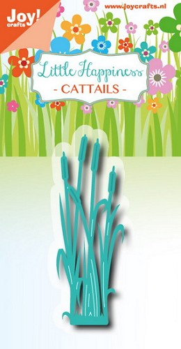 Joy Stencil - Little Happiness - cattails