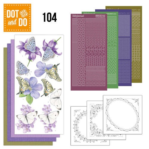 Dot & Do Hobbydots Pakket - butterflies