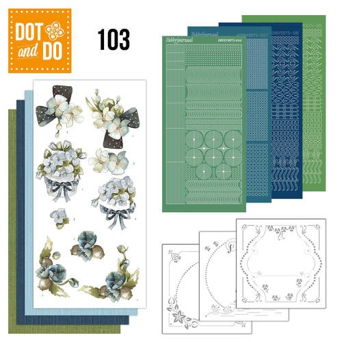 Dot & Do Hobbydots Pakket - fantastic flowers
