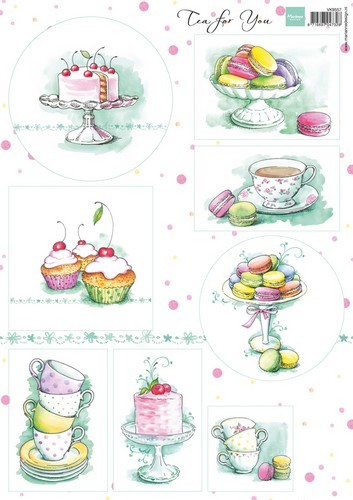 Knipvel Marianne Design - Tea for You 2