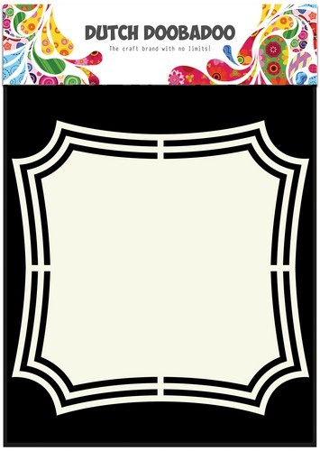 Dutch Doobadoo Stencil - Shape Art - Frames 2