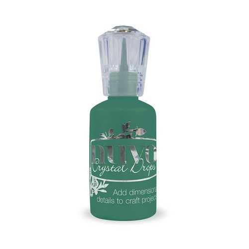 Nuvo Crystal Drops - woodland green