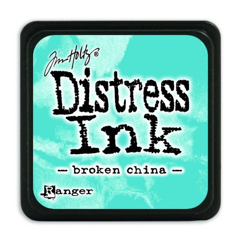 Ranger Distress Mini Ink Pad - broken china