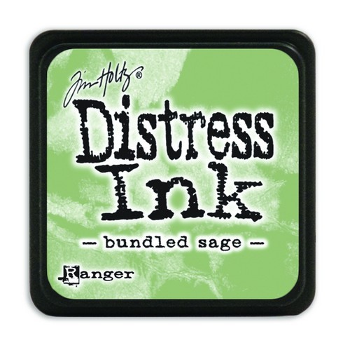Ranger Distress Mini Ink Pad - bundled sage