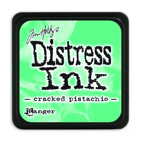 Ranger Distress Mini Ink Pad - cracked pistachio