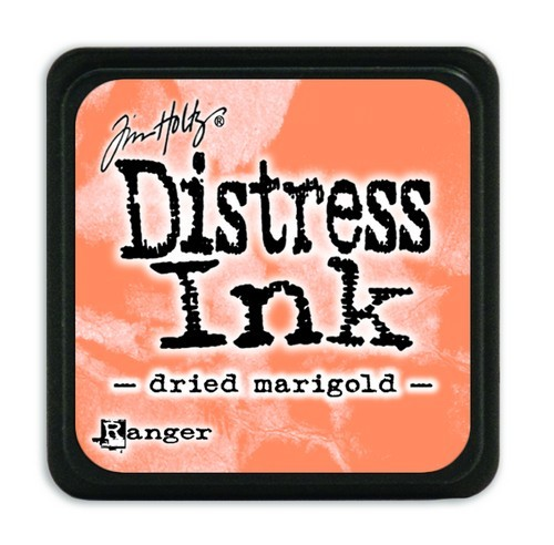 Ranger Distress Mini Ink Pad - dried marigold