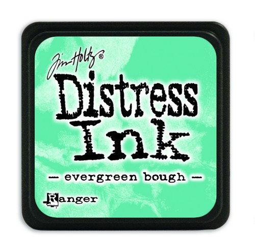 Ranger Distress Mini Ink Pad - evergreen bough