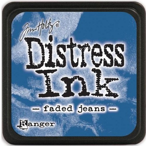 Ranger Distress Mini Ink Pad - faded jeans