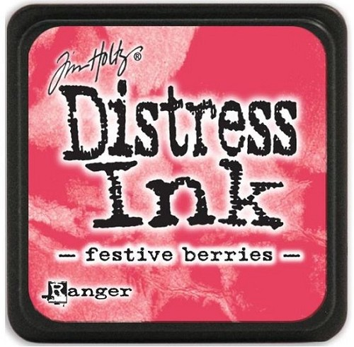 Ranger Distress Mini Ink Pad - festive berries